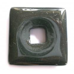 Donut Quadrat Hämatit 40 mm