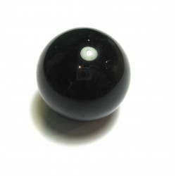Kugel Obsidian schwarz 8,5-9.5 cm