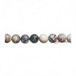 Strang Kugel Marmor Picasso 6 mm