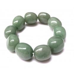 Nugget-Armband groß Aventurinquarz grün