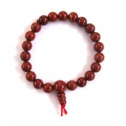 Kraft-Armband Jaspis rot