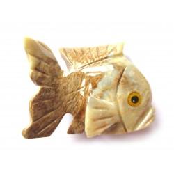 Fisch Speckstein 8 cm