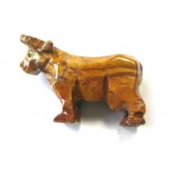 Kuh Speckstein 8 cm