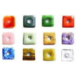 Donut Quadrat Mischung 40 mm VE 12 Stück