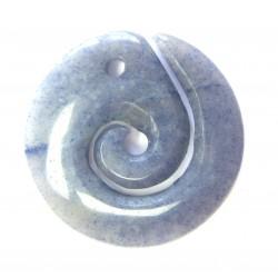 Maori Spirale Blauquarz