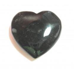 Herz Obsidian Silber 30 mm
