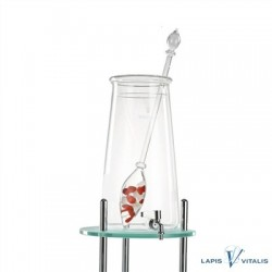 VitaJuwel Gran Fontana-Set Fit & schlank (roter Jaspis, Magnesit, Bergkristall)