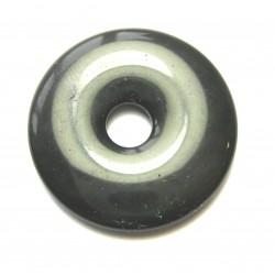 Donut Obsidian Gold 30 mm