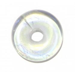 Donut Angel Aura (Bergkristall bedampft) 30 mm
