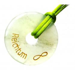 Wunscherfüllungs-Donut Reichtum Serpentin 40 mm
