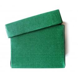 Schmuckschachtel 3,5 x 3,5cm grün VE 36 Stück