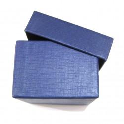 Schmuckschachtel 3,5 x 3,5cm blau VE 36 Stück
