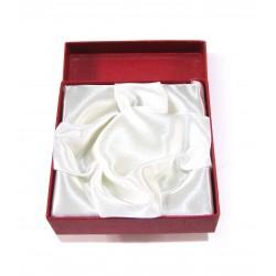Schmuckschachtel Armband 10x10cm, rot VE 6 Stück