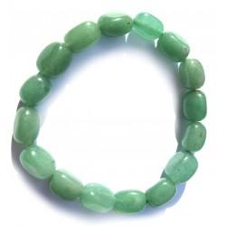 Nugget-Armband klein Aventurinquarz grün