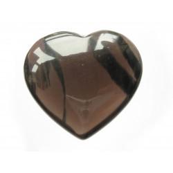 Herz Obsidian Lamellen 38 mm