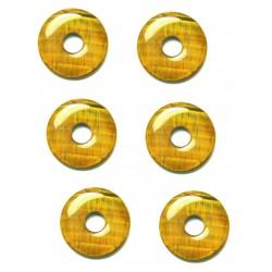 Donut Tigerauge 15 mm VE 6 Stück