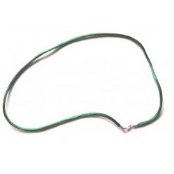 Start Paket Farbige Nylon Colliers 2 mm 45 cm 925er Silber Verschluss VE 10 Stück