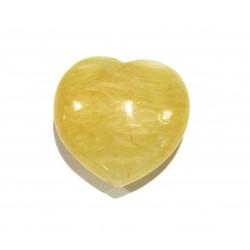 Herz Calcit orange 20 mm