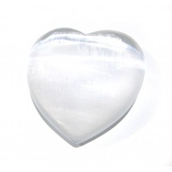 Herz Selenit 50-60 mm
