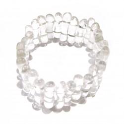 Armband Welle Bergkristall 25 mm