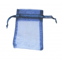 Organza-Beutel 10x14 cm dunkelblau VE 50 Stück