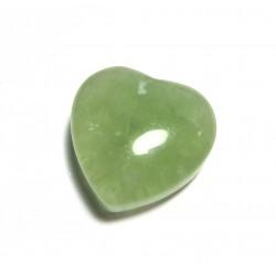 Herz Fluorit grün 25 mm