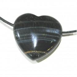 Herz gebohrt Falkenauge 30 mm