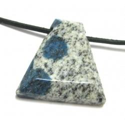 Freeform Azurit in Granit gebohrt 3-4 cm