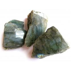 Labradorit Anschliff  8-12 cm