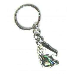 Schlüsselanhänger Pferdekopf Pauamuschel