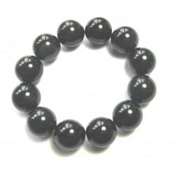 Kugel-Armband Obsidian Regenbogen 18 mm