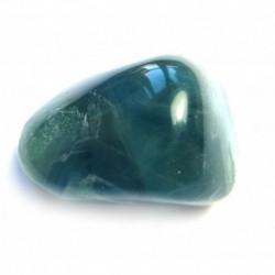 Trommelstein Fluorit blau 100 g