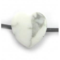 Herz gebohrt Magnesit 15 mm