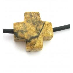 Kreuz gebohrt Marmor Landschafts- 15 mm