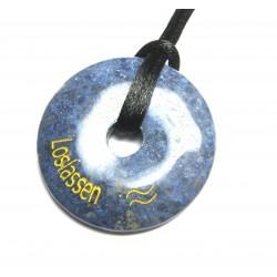 Wunscherfüllungs-Donut Loslassen Dumortierit 40 mm