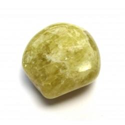 Trommelstein Heliodor AB Beryll gelb-grün 1 Stück