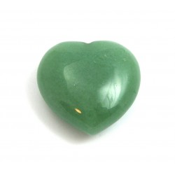 Herz Aventurinquarz grün 30 mm