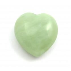 Herz Serpentin grün 35 mm