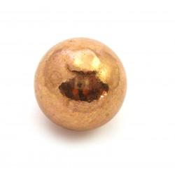 Kugel Kupfer (gegossen) 3 cm