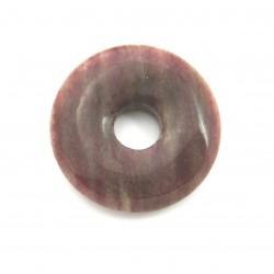 Donut Piemontit-Quarz 50 mm