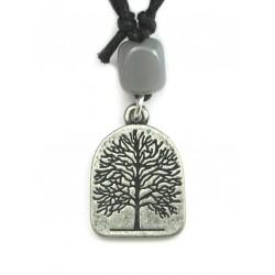 Zinn-Amulett Lebensbaum
