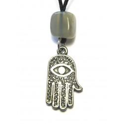 Zinn-Amulett Alles sehende Auge