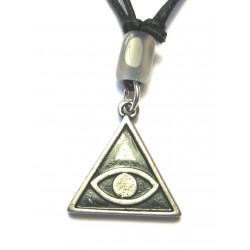 Zinn-Amulett Gegen den bösen Blick