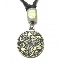 Zinn-Amulett Keltischer Knoten