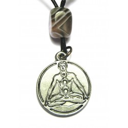 Zinn-Amulett Kundalini