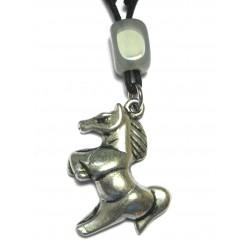 Zinn-Amulett Pferd