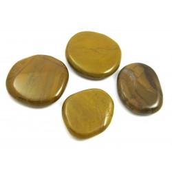 Scheibenstein Jaspis gelb VE 500 g
