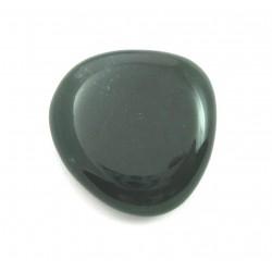 Scheibenstein Chalcedon grün 1 Stück