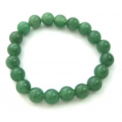 Kugel-Armband Aventurinquarz grün 10 mm