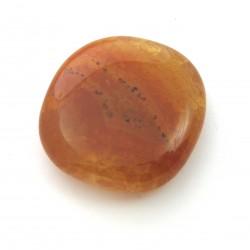 Scheibenstein Carneol (erhitzt) 1 Stück